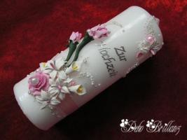 Foto 5 Hochzeitskerze ''Calla Lily'' 185x60