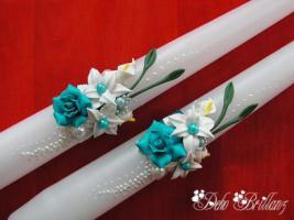Foto 7 Hochzeitskerze ''Calla Lily'' 185x60