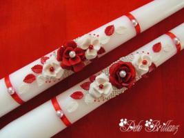 Foto 8 Hochzeitskerze ''Romantik'' 185x60