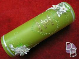 Hochzeitskerze ''Smaragd'' 185x60