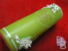 Foto 2 Hochzeitskerze ''Smaragd'' 185x60