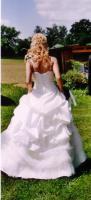 Foto 3 Hochzeitskleid (Gr.36/38)- cremefarbener Traum aus Tüll und Spitze