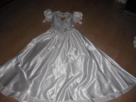 Hochzeitskleid Gr.38 viele Perlchen
