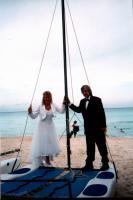 Foto 2 Hochzeitskleid Gr. 40