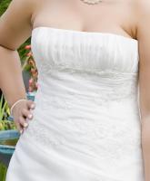 Foto 4 Hochzeitskleid Gr. 40/42