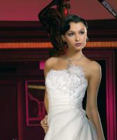 Hochzeitskleid und viel Zubeh�r Gr. 38/40