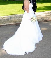 Foto 3 Hochzeitskleid - Grösse 42/44 - Einzelstück