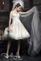 Hochzeitskleid, kürzer Schnitt