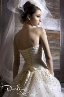 Foto 2 Hochzeitskleid, kürzer Schnitt