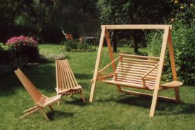 hollywoodschaukel gartenschaukel holz schaukel swing. Black Bedroom Furniture Sets. Home Design Ideas