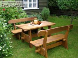 Foto 2 Holz Gartenmöbel Sets