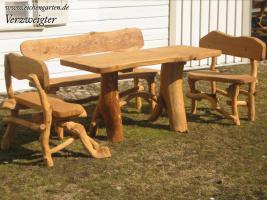 Foto 3 Holz Gartenmöbel Sets