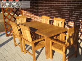 Foto 4 Holz Gartenmöbel Sets