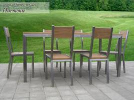 Foto 6 Holz Gartenmöbel Sets