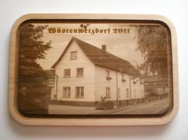 Foto 5 Holzbild auf Brett - Lasergravur - Ihr Wunschmotiv