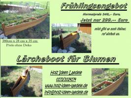 Foto 2 Holzboot zum Bepflanzen