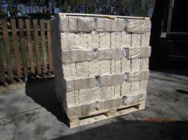 Holzbriketts für Kamin 960 kg/Palette, Kaminholz, Kiel