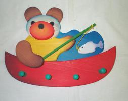 Holzgarderobe - Kindergarderobe NEU reduziert