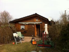 Holzhaus 24 qm in einer Kleingartenkolonie in Britz