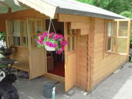 Foto 2 Holzhaus für Kleingarten