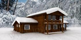 Holzhaus aus Norwegen