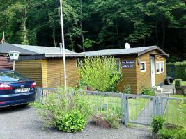 Holzhaus auf Pachtgrundst�ck im Wiedbachtal