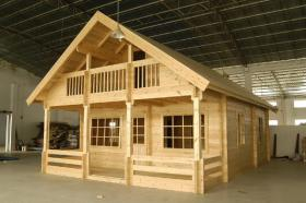 Holzhaus, 7 cm Pine 19.960 US-Dollar!