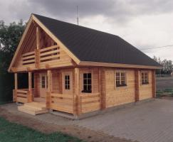 Holzhaus, 7 cm Pine 21.300.00 US-Dollar!