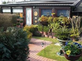 Holzmobilheim mit Wintergarten zu verkaufen