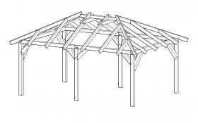 Foto 3 Holzpavillon