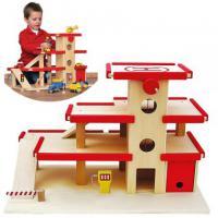 Holzspielwaren Natutoys  Parkhaus, Garage