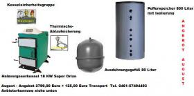 Holzvergaserkessel  Holzvergaser  Holzvergaserheizkessel