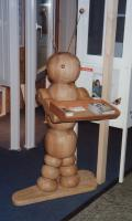 Holzwürmer Ideal für Messen und Ausstellung