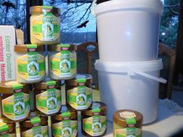 Foto 3 Honig BienenWachs Kerzen mit lieferung