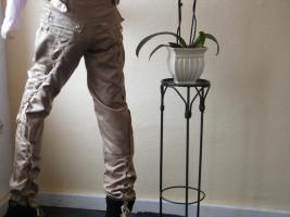 Foto 3 Hose von Vero Moda, ,Beige mit Glanz, ,, mit vielen Taschen und Bänder