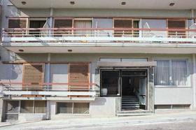 Hotel auf der Halbinsel Methana/Griechenland