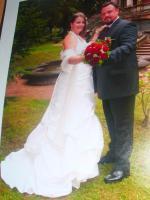 Foto 2 Hübsches Brautkleid Größe 46