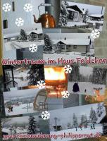 Haus Feldchen im Winter