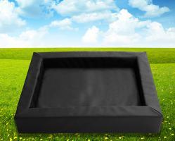 Hundebett-Hundekorb Andy 118x98x20cm schwarz