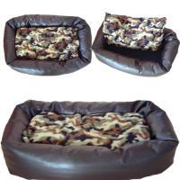 Hundebett / Katzenbett ''Muffin'' braun