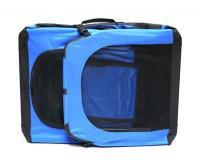 Foto 4 Hundebox Katzenbox XL blau 81,3x58,4x58,4cm