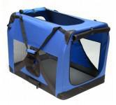 Hundebox Katzenbox XXL blau 91,4x63,5x63,5cm