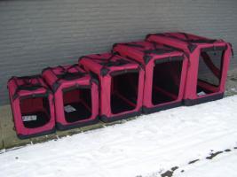 Foto 2 Hundebox Softbox Neu im Box Rot