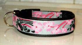 Hundehalsband ''Japanblüte''
