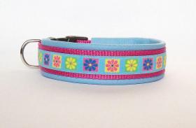 Hundehalsband ''Sommerblumen''