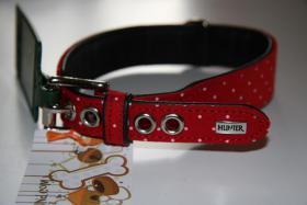 Hundehalsband TEXTILE DOTS von HUNTER