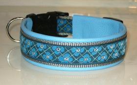 Hundehalsband ''Traumblumen''