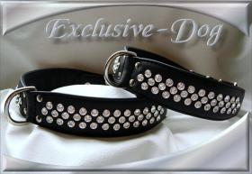 Hundehalsband   '' Black Beauty '' made by Exclusive-Dog