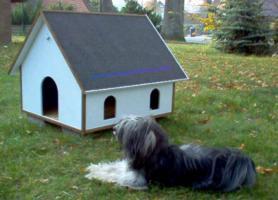 Hundehütte Hundevilla Hundehaus