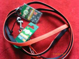 Hundeleine Art Leather Plus von Karlie Gr. S 15 mm X 200 cm Neu mit Etikett in rot für Ihren Hund